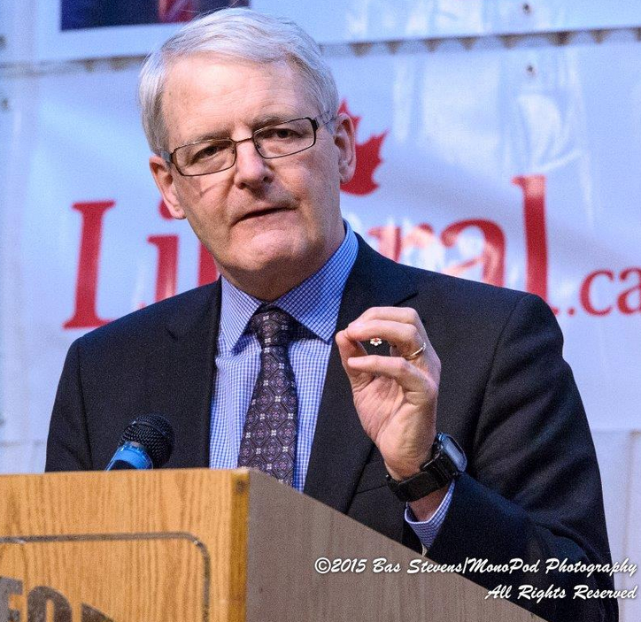 Marc Garneau Speaks In Abbotsford On Homelessness And The Need For Change