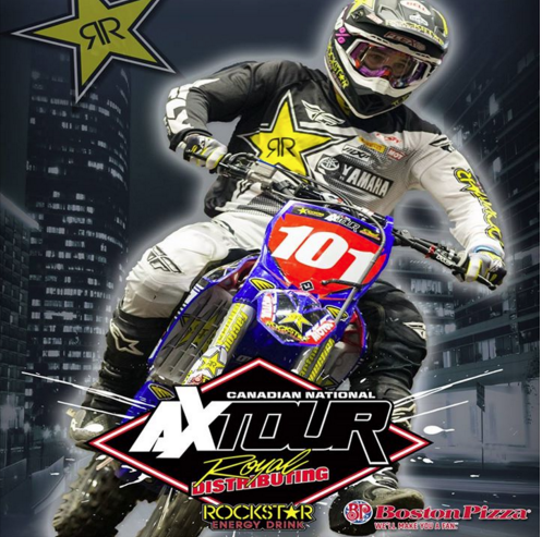 Rockstar Energy Canadian National Arenacross Tour Rips Into Abbotsford Centre