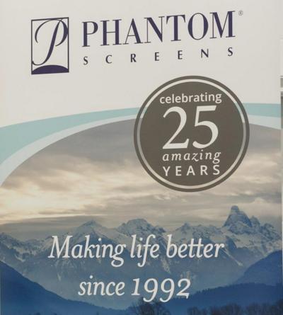 Phantom Screens Celebrates Their Twenty-Fifth Anniversary