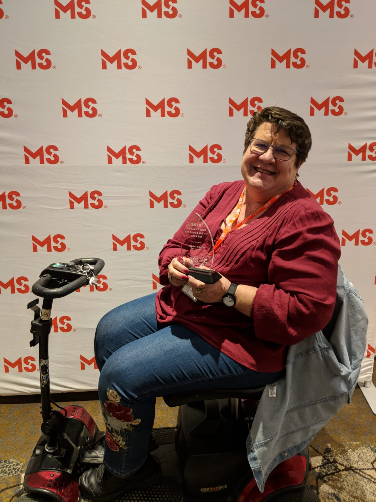 Abbotsford Woman Receives Prestigious Award from the MS Society