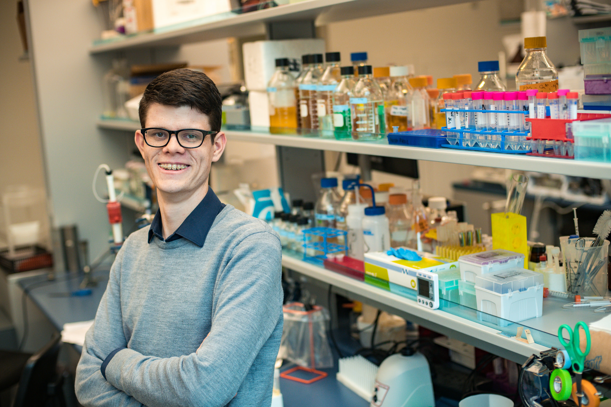 UFV Young Distinguished Alumni Andrew Alexander Winner Fights Scientific Battle Against Antibiotic Resistance