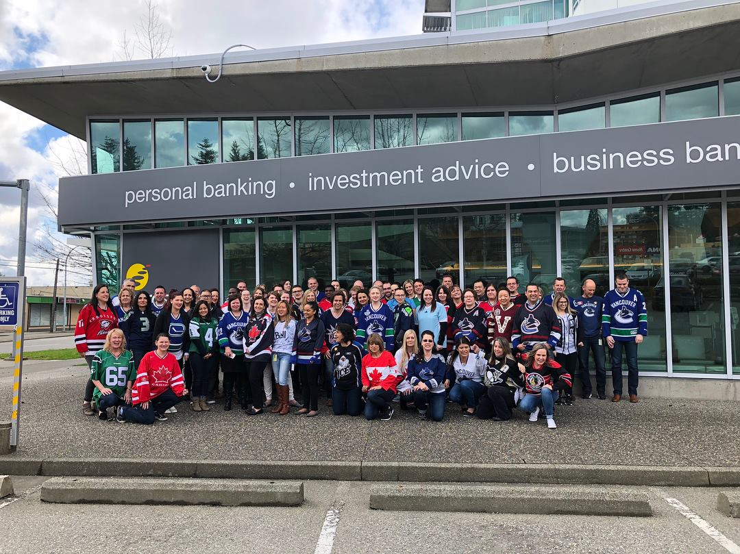 Prospera Credit Union made it to the 2018 List of Best Workplaces™ in British Columbia