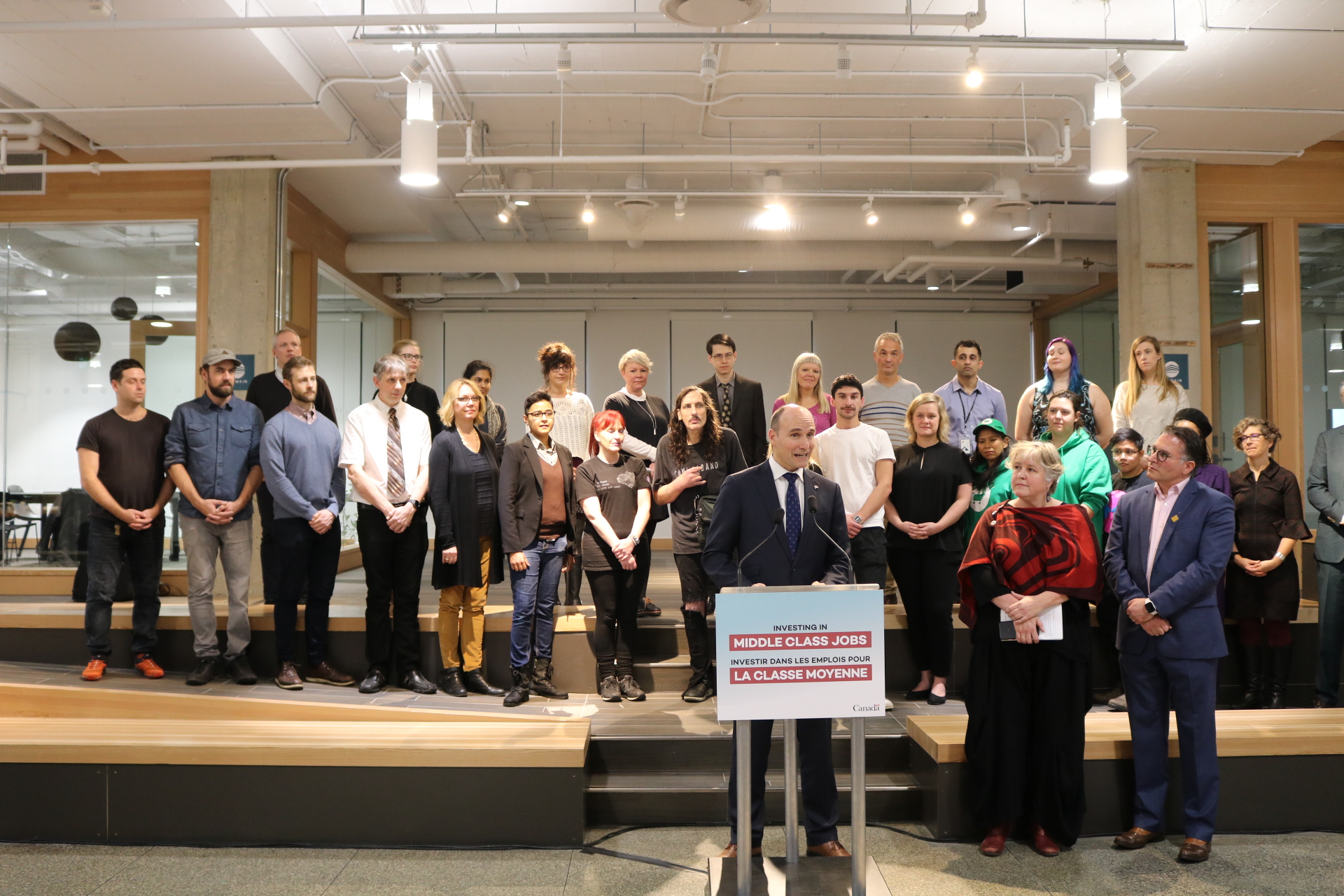 Government of Canada announces fund that will have a real impact for the middle-class