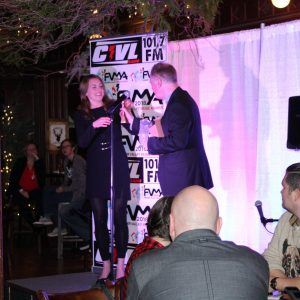 Kristin Witko Accepts Pop Award