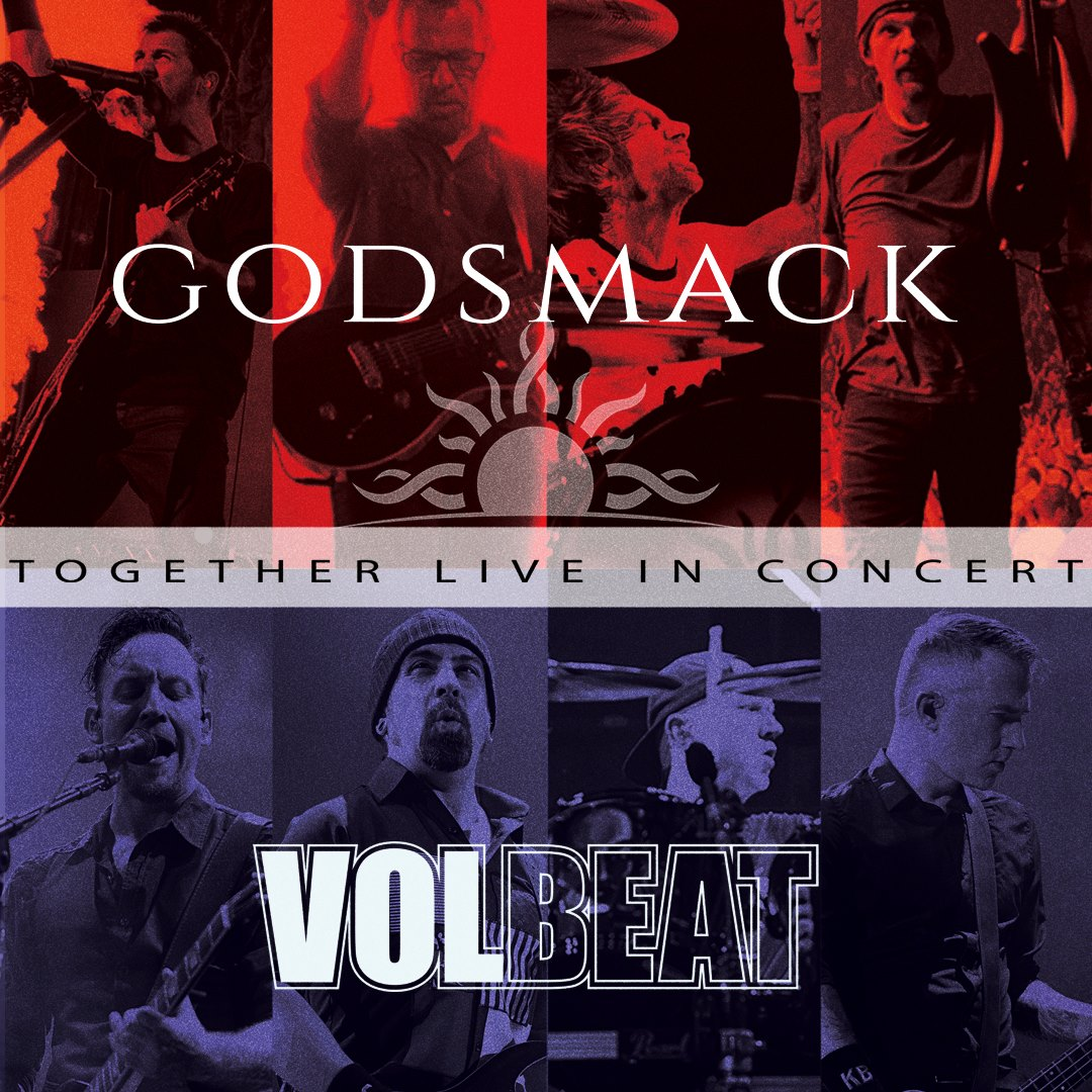Volbeat and Godsmack confirm tour stop at the Abbotsford Centre in Spring 2019