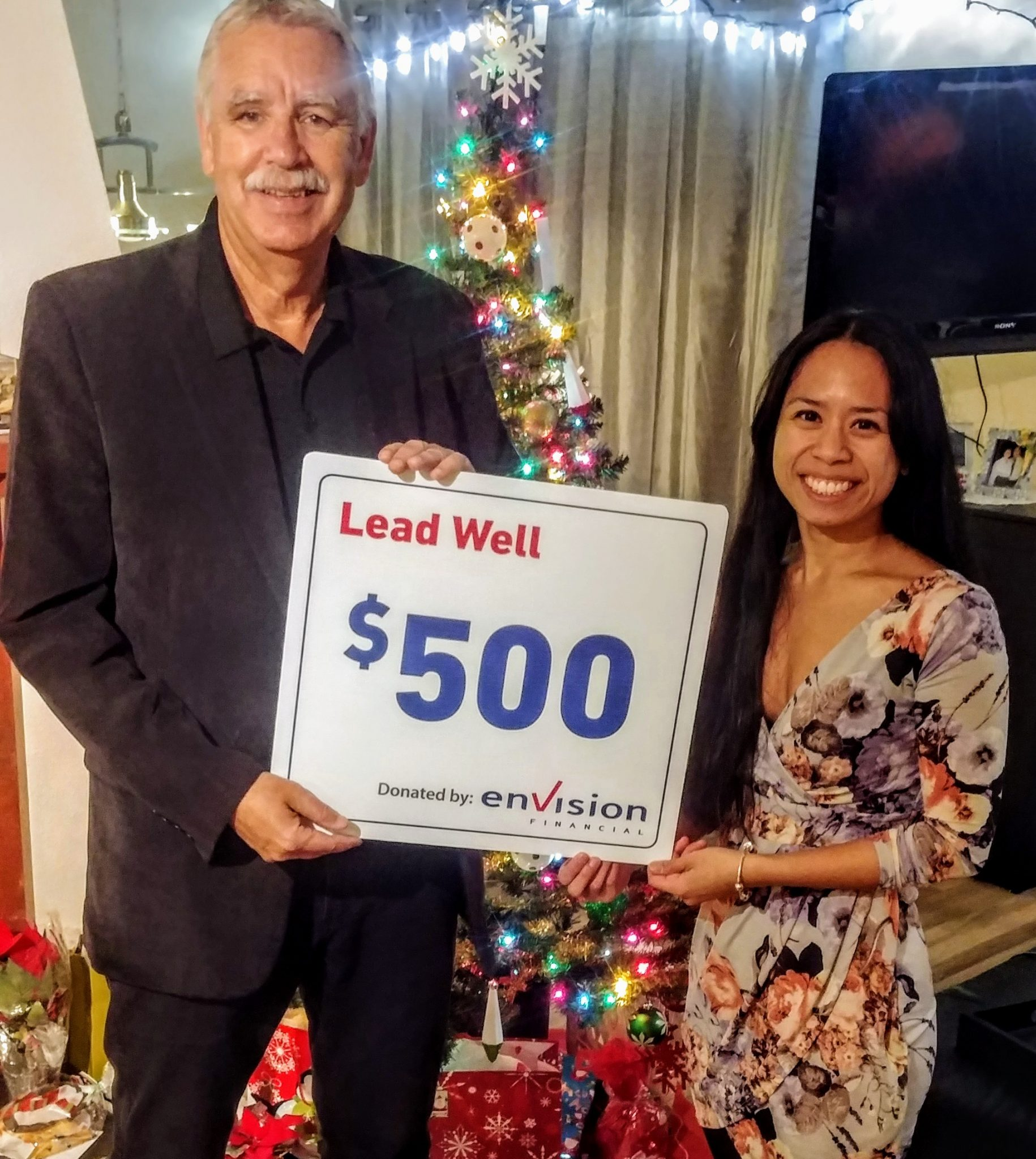 Envision Financial Supports Heart to Heart Haiti through the Lead Well Employee Donation Program