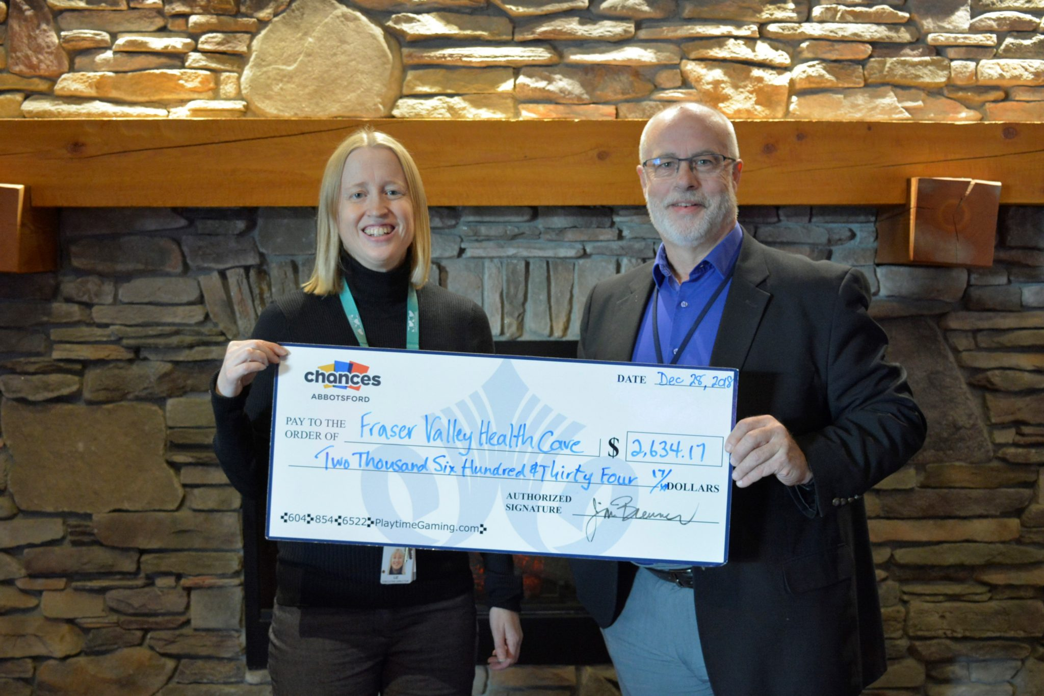 Chances Playtimne Abbotsford Supports ARH Pediatric Unit