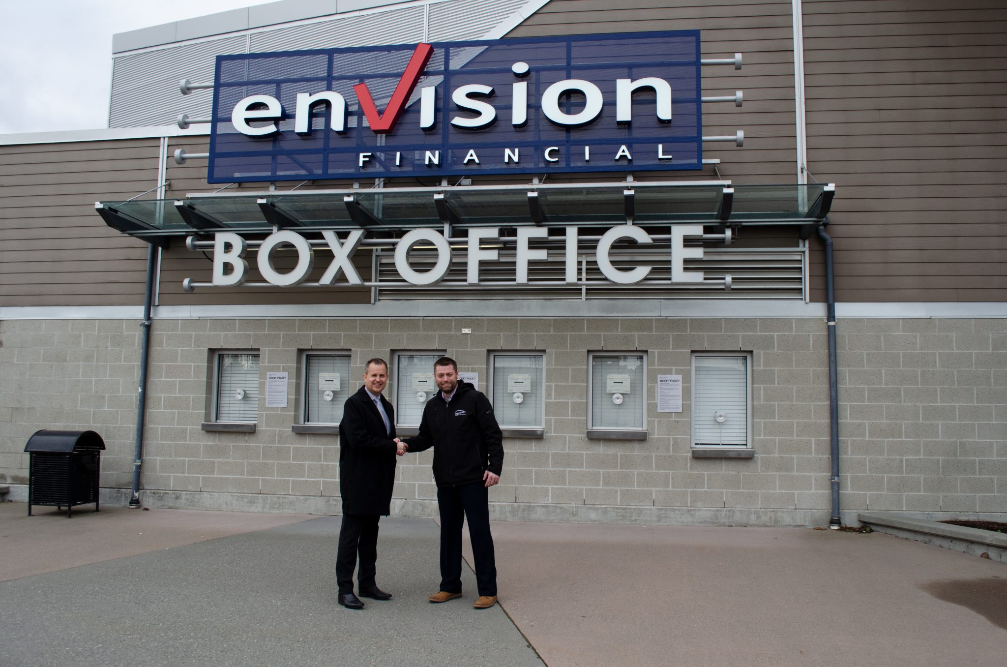 Envision Financial becomes new Box Office Naming Rights Partner at the Abbotsford Centre