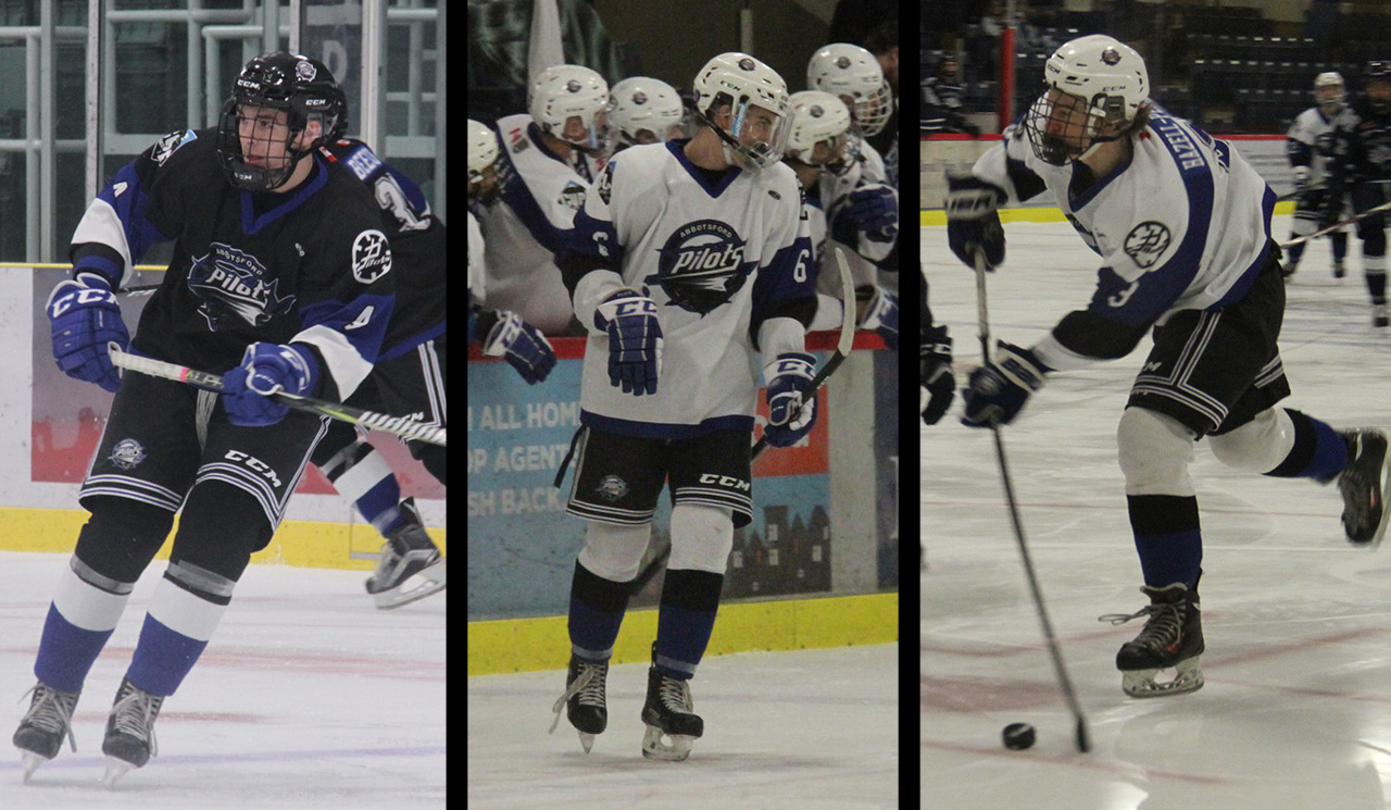 Three Abbotsford Pilots named to 2019 PJHL Prospects Game