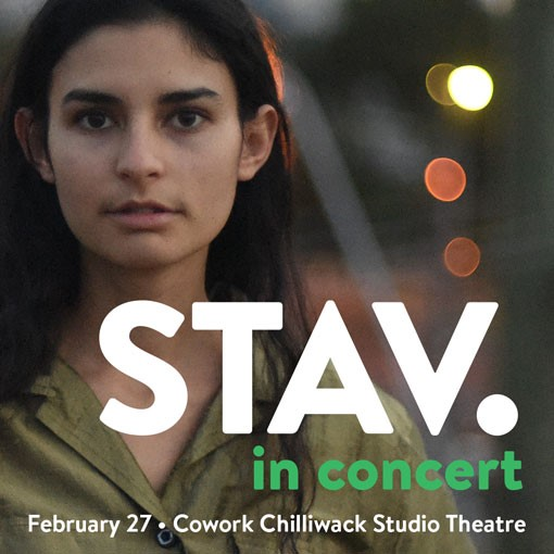 Cowork Chilliwack and Living Room Live present STAV. in concert