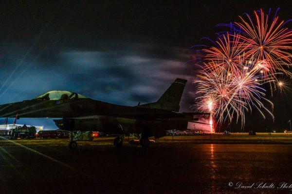 2018 Fireworks by David G Shultz