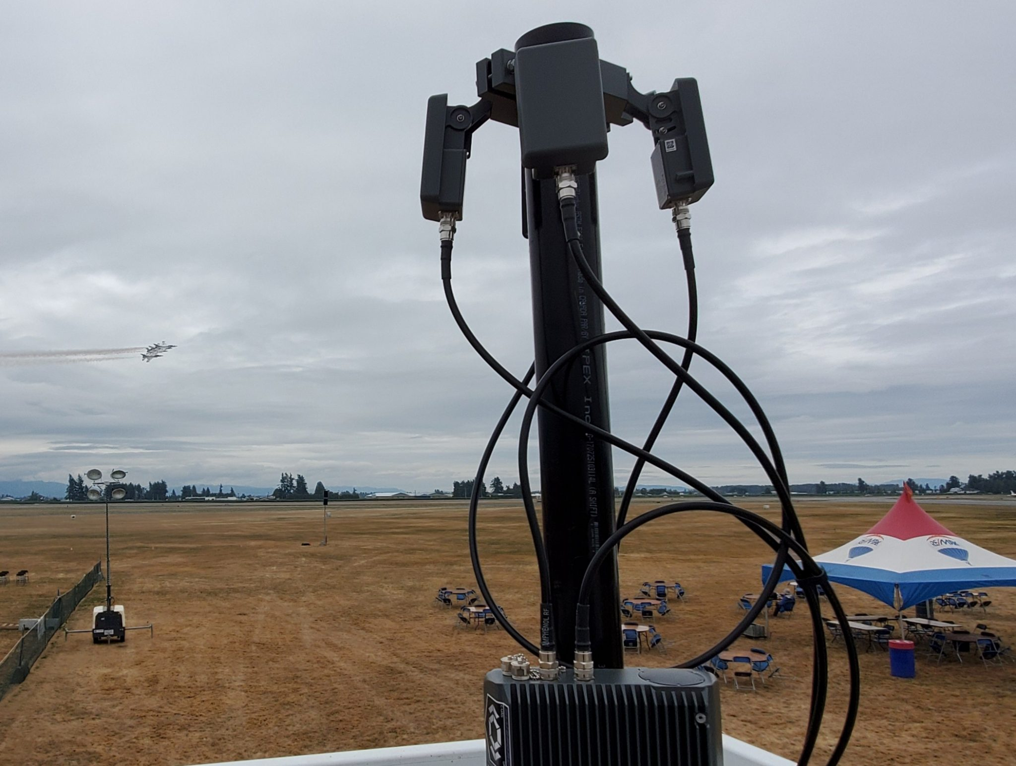 Drone Detection System Deployed at Abbotsford Airshow; Located Drones and Pilots More Than 20 Kilometres Away