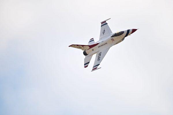 USAF Thunderbird by Jay Gough