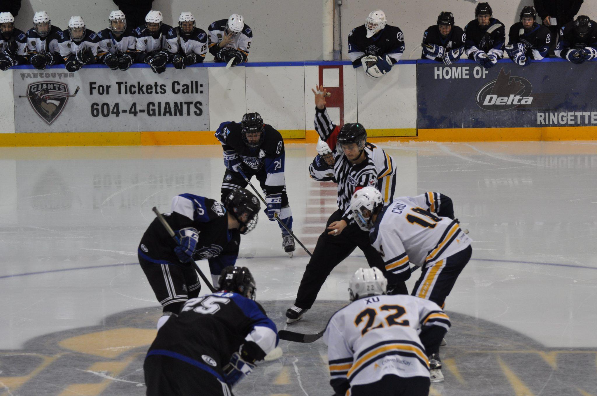 Abbotsford Pilots Fall to Ice Hawks 8-1