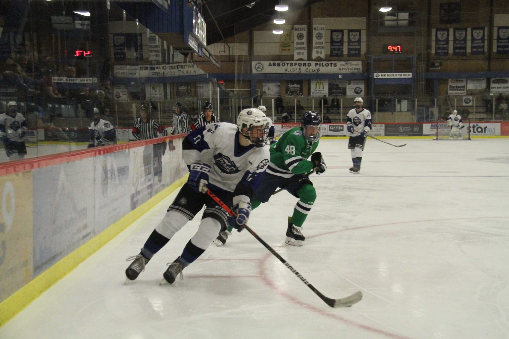 Pilots Take a Win Over the White Rock Whalers