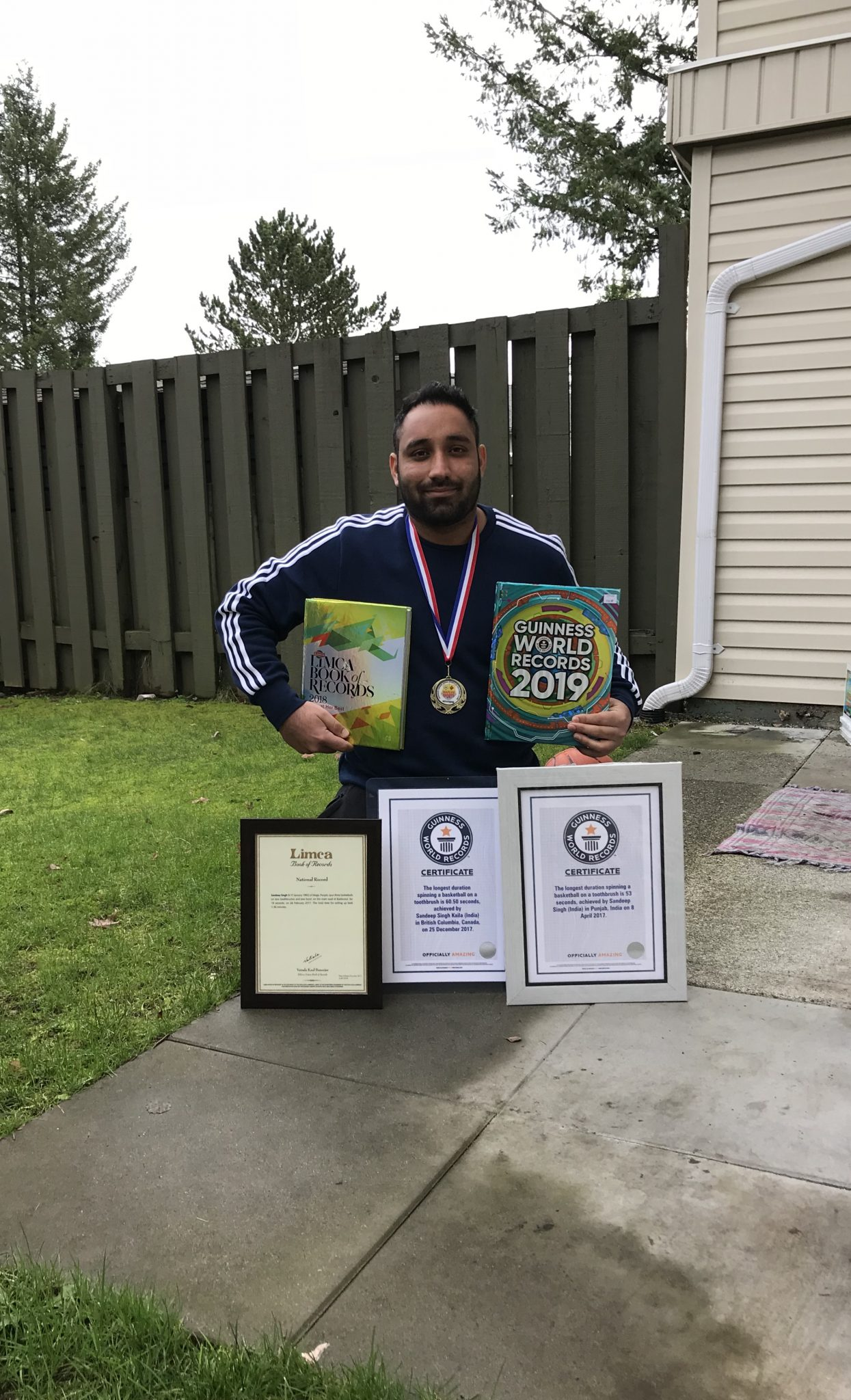 Local Abbotsford Man Sets Guinness World Record