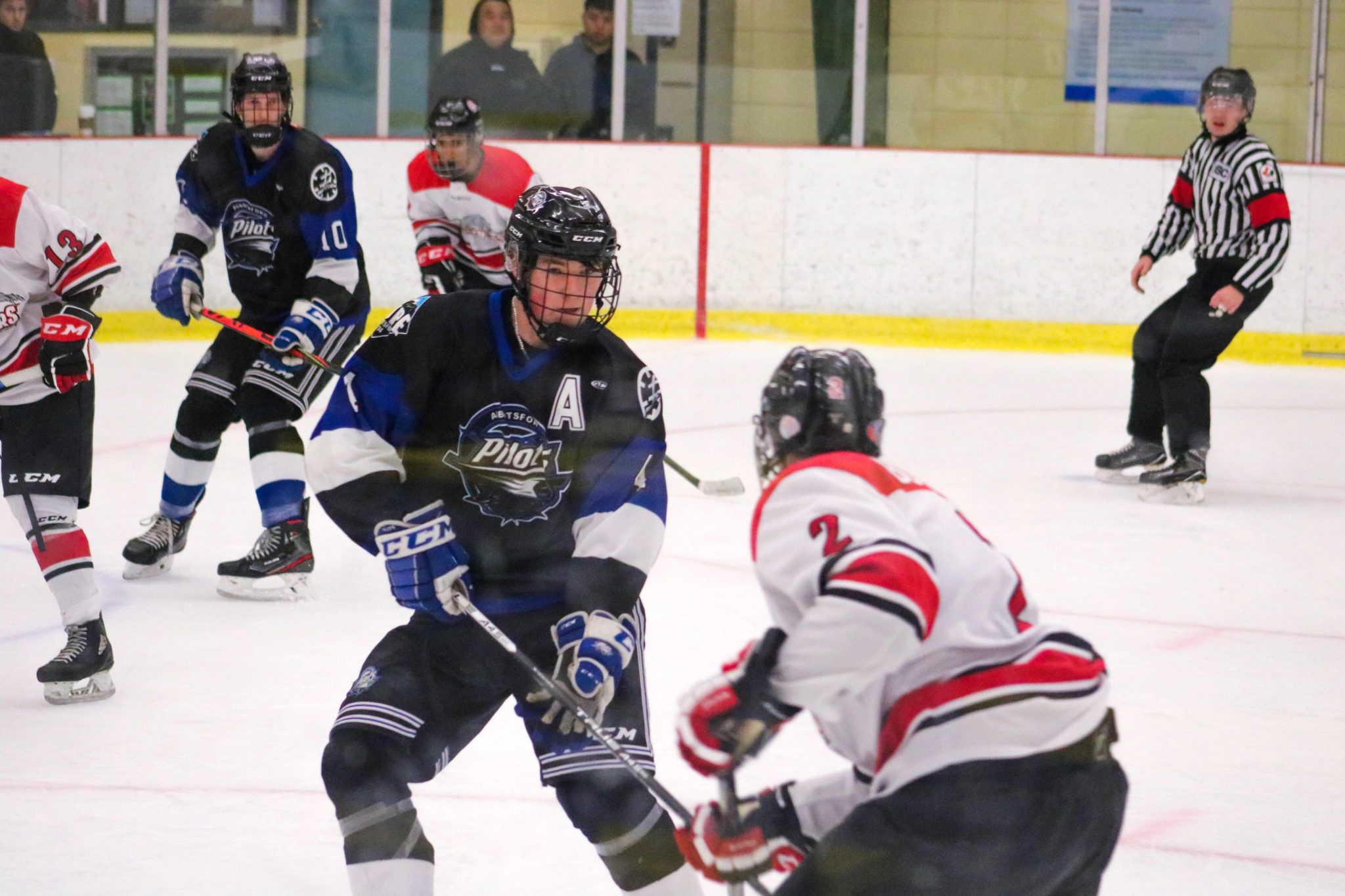 Pilots Unable to Fend Off Port Moody Comeback