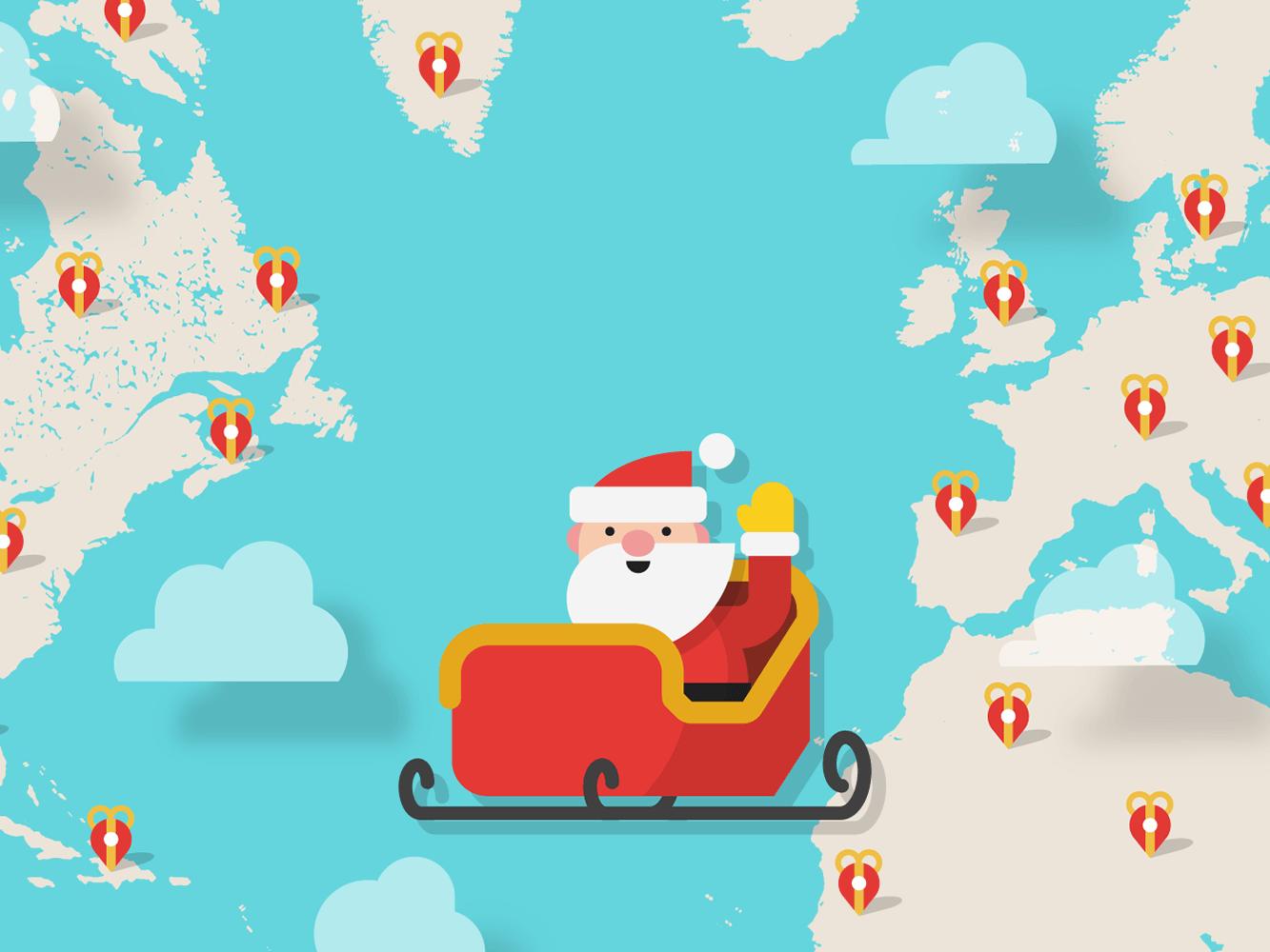 Track Santa's Progress Around the World