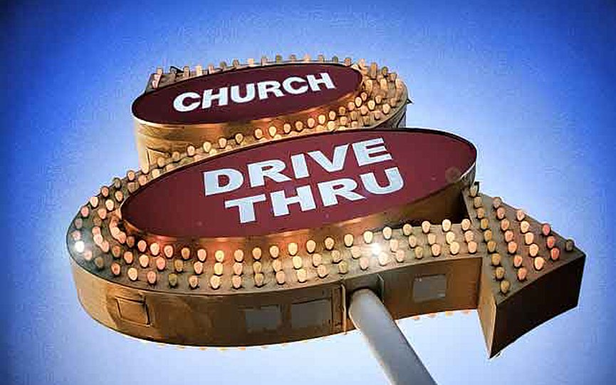 Churches Get Go-Ahead to Offer Drive-Thru Services