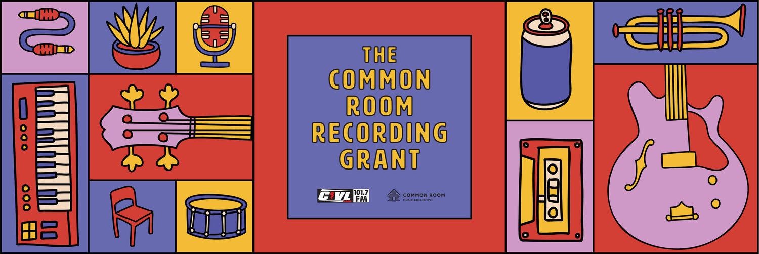 Common Room and CIVL Offer Recording Grant!