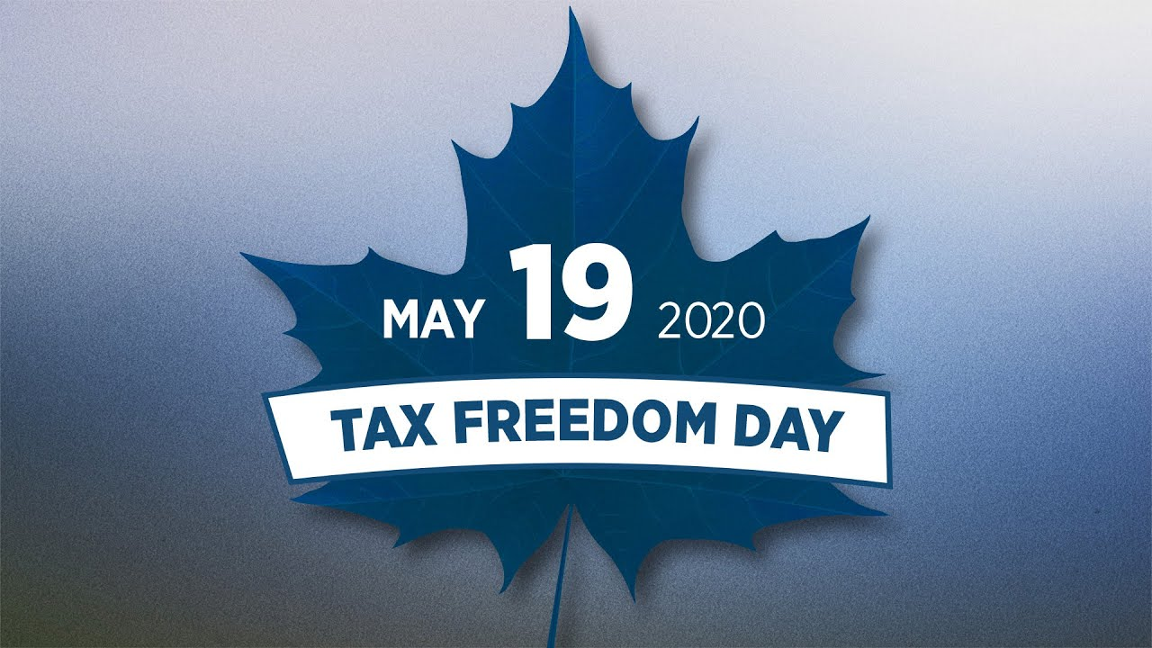 Fraser Institute News: May 19 is Tax Freedom Day—but there's no reason to celebrate